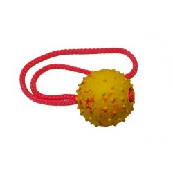 Ball with handle, 6 cm.