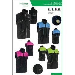 Vest suprima zwart/groen